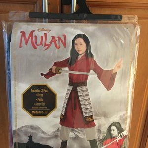 Mulan Costume - Disney Mulan Live-Action US8-10